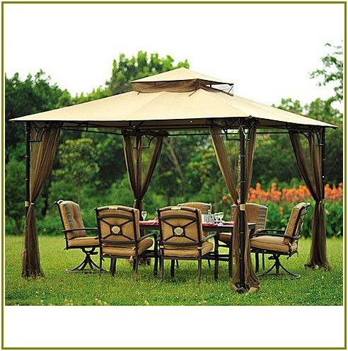Monumental Madaga Gazebo Canopy Replacement