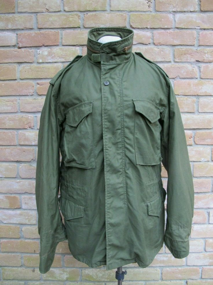 DARK OG107 One Wash (?) Vintage 1976 US Army M65 Jacket