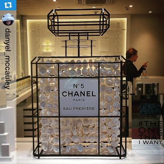 "CHANEL No.5, Burlington Arcade, London, UK,""EAU PREMIERE"", pinned by Ton van der Veer"
