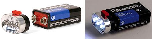 By Andrew Liszewski When it comes to an LED flashlight I'm pretty sure this design is as simple as it gets. Three super-bright LEDs (are there other versions of LEDs…