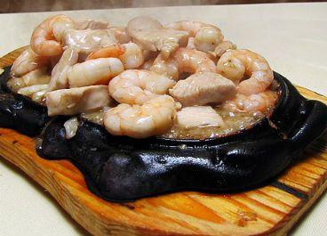Tepanyaki Carne, Pollo, Camarón