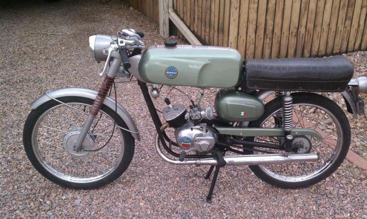 Vintage Benelli Motorcycle 42