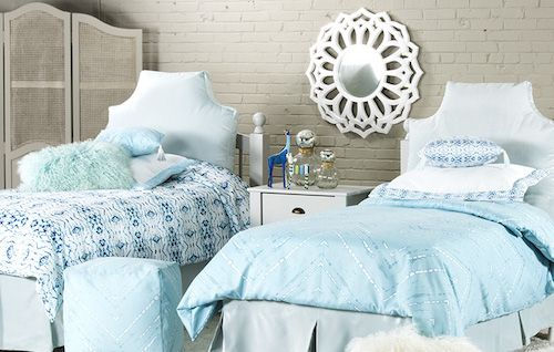 bed bath and beyond dorm  | ... or these high-thread count sheets by Wamsutta at Bed, Bath and Beyond