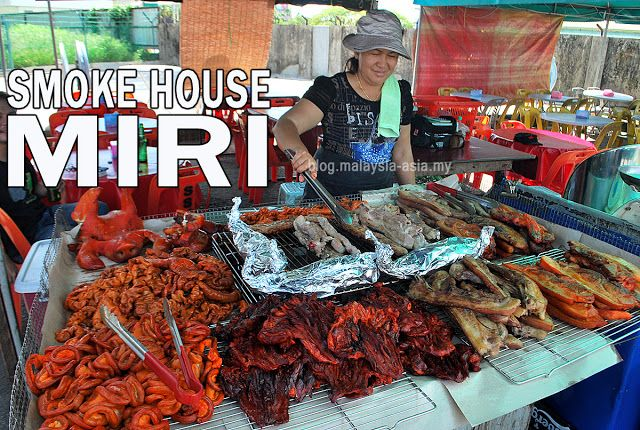 Smoke House Rumah Asap in Miri   Malaysia Asia