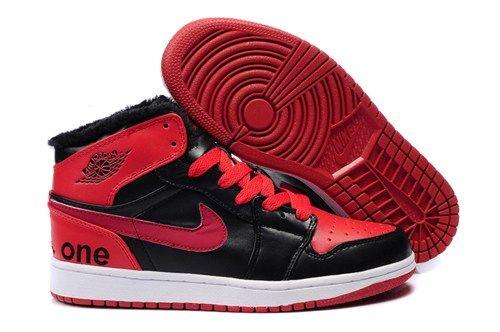 Inexpensive Shopping Online Air Jordan 1 Fur Inside Mens Shoes On Sale Red  Black SpeYT from Reliable Big Discount! Inexpensive Shopping Online Air  Jordan 1 ...