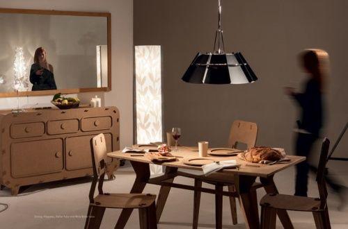 意大利品牌SLAMP最新纸上光影灯具系列- CASA SLAMP _慢设计