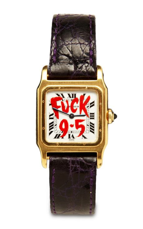 Customized Vintage Cartier Watch by Foundwell Now Available on Moda Operandi