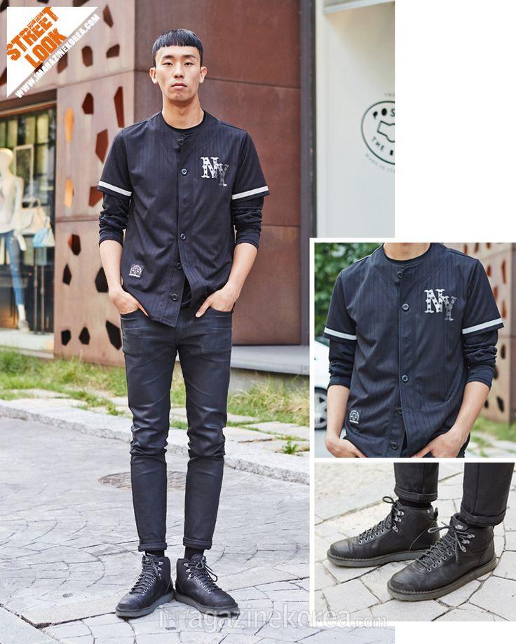 2014.07.16 민준기 (26세 | 모델 | 신사동) 재킷 MLB | 신발 Nike