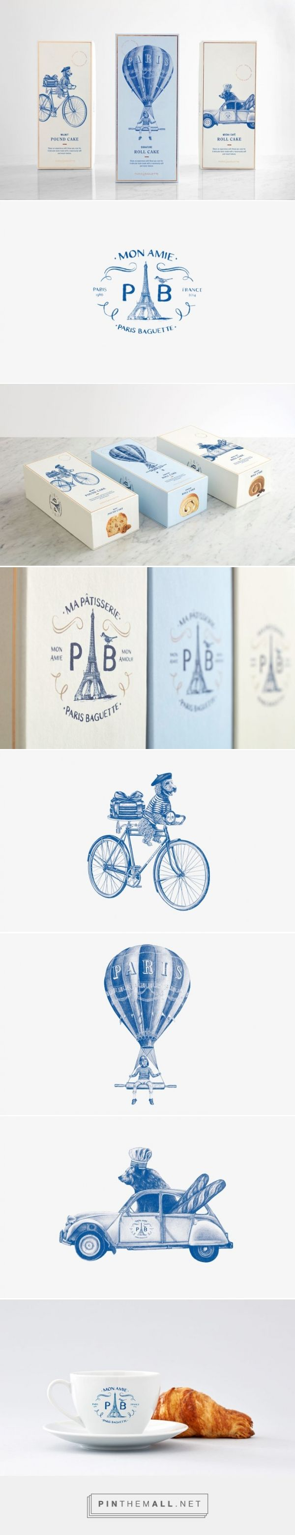 巴黎咖啡館的甜點包裝   MyDesy 淘靈感 - created via https://pinthemall.net