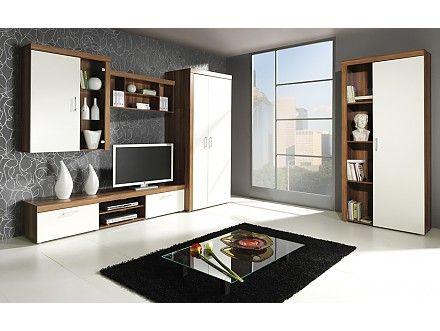 Obývací stěna SÁRA A http://www.nabytek-elegance.cz/obyvaci-stena-sara-a