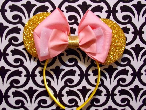 Sleeping Beauty Princess Pink Bow inspired by SophieChicDesignxx