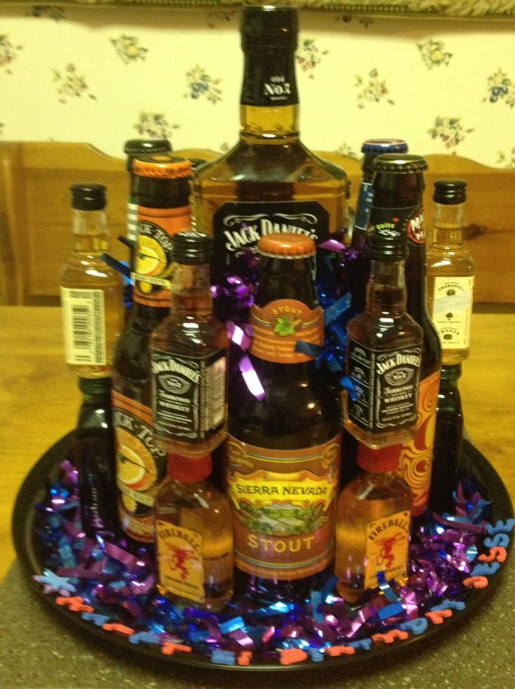Liquor cake | 21st birthday gift | Pinterest | Liquor cake ...