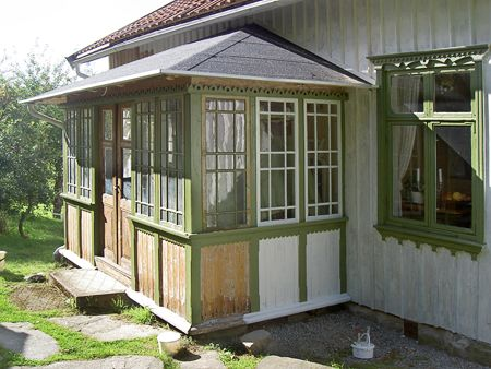 Glasveranda - alternativ till tak på huset