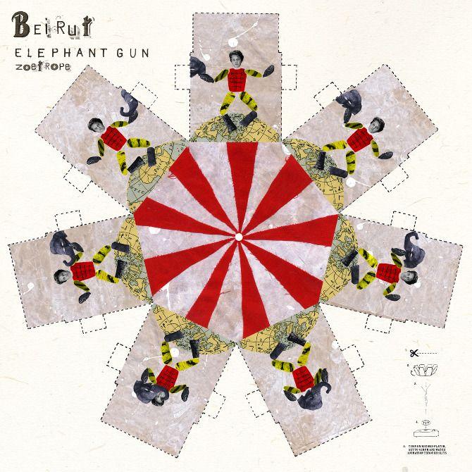 Christine Harrison | Beirut Elephant Gun zoetrope