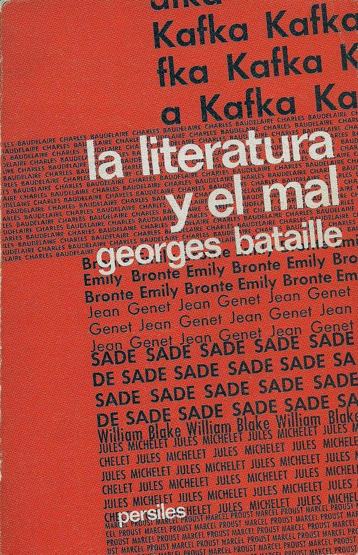 Descarga: #GeorgesBataille - La #literatura y el mal http://goo.gl/oF1dKO