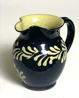 Wetheriggs slipware jug