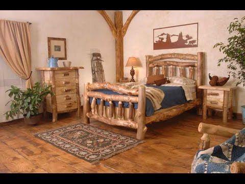 Best 20+ Log bedroom furniture ideas on Pinterest | Rustic log ...