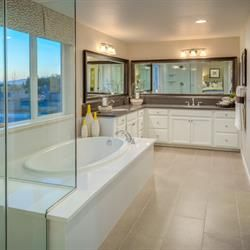Relaxation and luxury in your own master bedroom! Find it at the Village at Santa Ana by Benchmark Communities in the Monterey Bay Area.