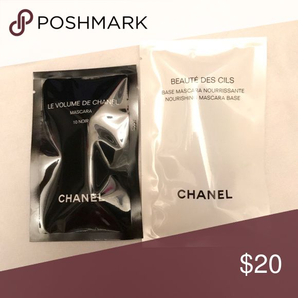 Authentic Chanel mascara and primer samples Authentic Chanel mascara and primer samples CHANEL Makeup Mascara