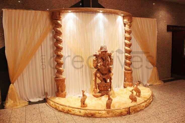 Asian wedding foyer decor indian wedding ideas for Indian foyer decorations
