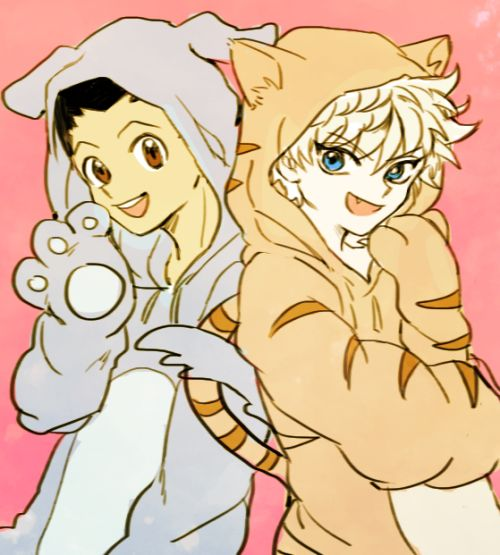 Gon and Killua     ~Hunter X Hunter