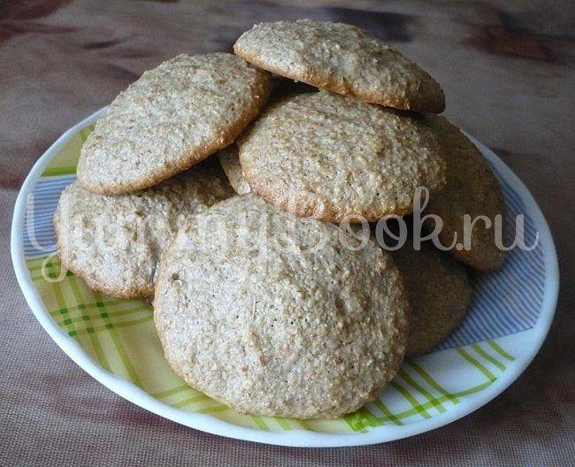 Белковое печенье с овсяными отрубями по диете Дюкана - пошаговый рецепт с фото