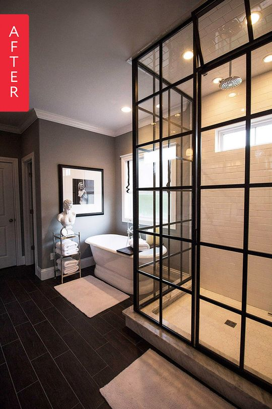 After about a decade with a builder grade bathroom that was fine but not really his style, Jonathan made some gorgeous changes to his space. Turns out patience truly is a virtue, at least when it comes to glamorous bathroom renovations.