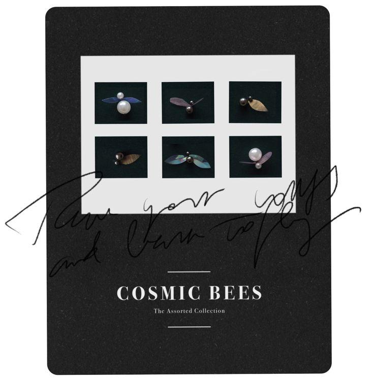 20171 Cosmic B's — Attitude Apoteket - Embroidery meets graphic design