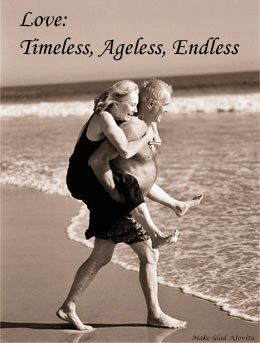Lovek knows no boundaries, it has no age, Love is Timeless ~ recreated by Jovita