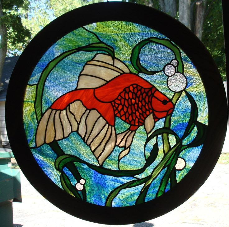 185 best stained glass fish ponds images on pinterest for Stained glass fish patterns