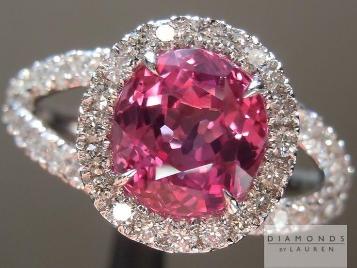 Best 25 Pink Sapphire Ring Ideas On Pinterest Pink