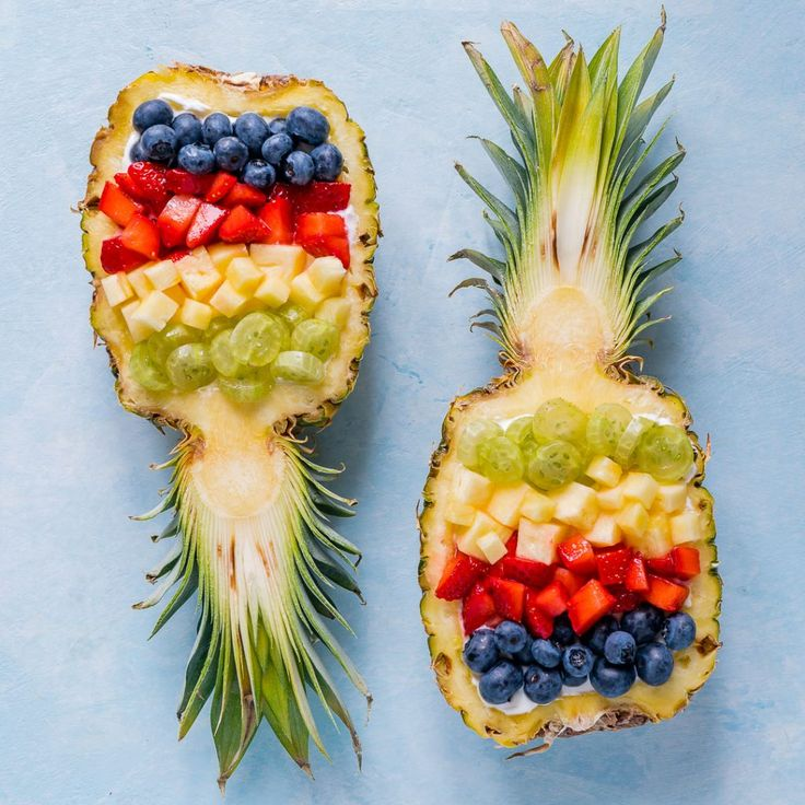 Super Creative Pineapple Breakfast Bowls for Clean Mornings! | Clean Food Crush