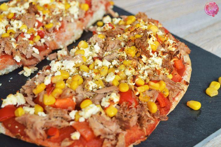 Thunfisch Fladenbrotpizza