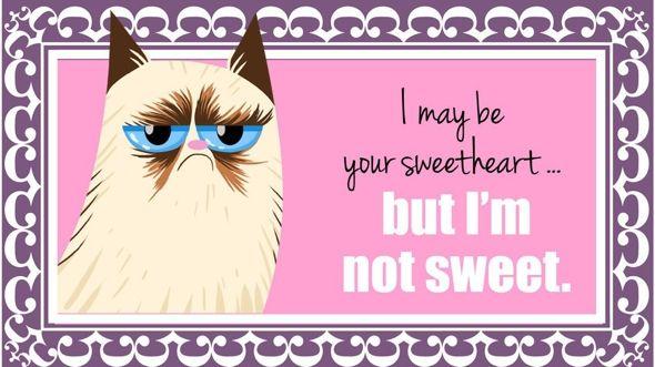 Happy Valentine's Day from Grumpy <3 <3 <3
