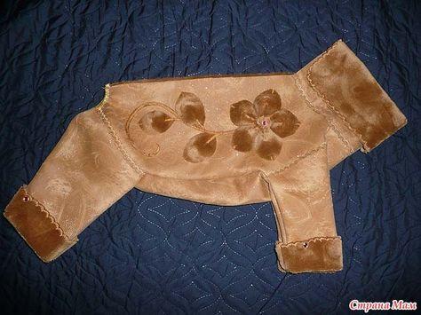 Выкройка комбинезона для китайской хохлатой собаки