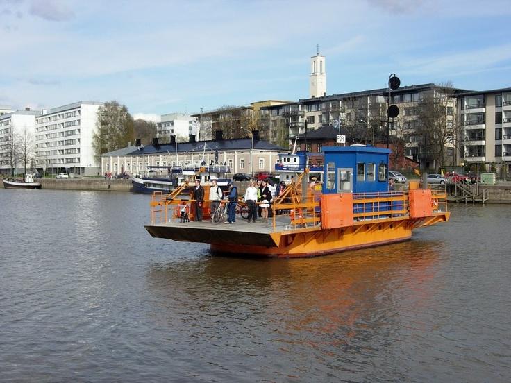 Föri is definitely one of Turku's nicest and cutest sightseeings :)