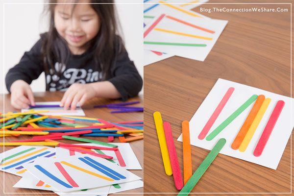 pattern matching game for kids