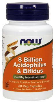 8 Billion Acidophilus & Bifidus Veg Capsules