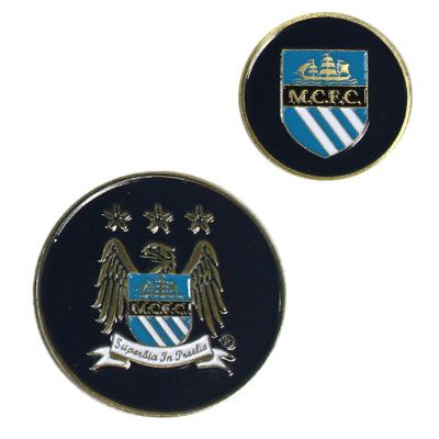 MANCHESTER CITY FC Golf Ball Marker. Official Licensed Manchester City golf gift. FREE DELIVERY ON ALL OF OUR GIFTS