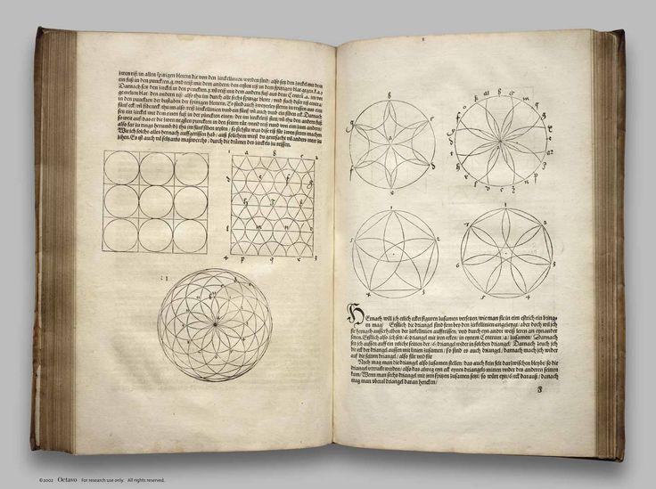 De Symmetria. . . and Underweysung der Messung - 1538 - Dürer, Albrecht Sacred geometry <3