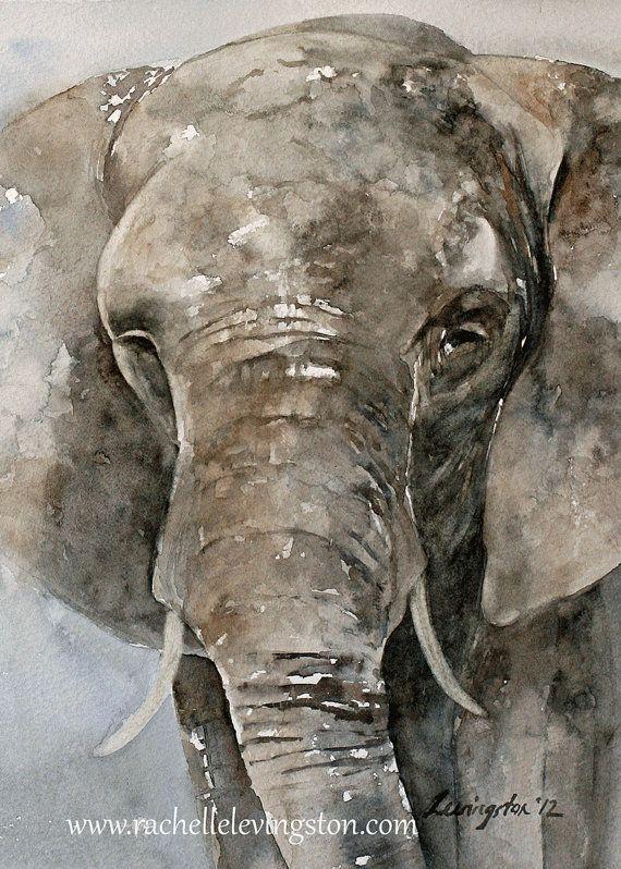 Baby room decor Elephant Print Elephant boy by rachellelevingston, $12.00
