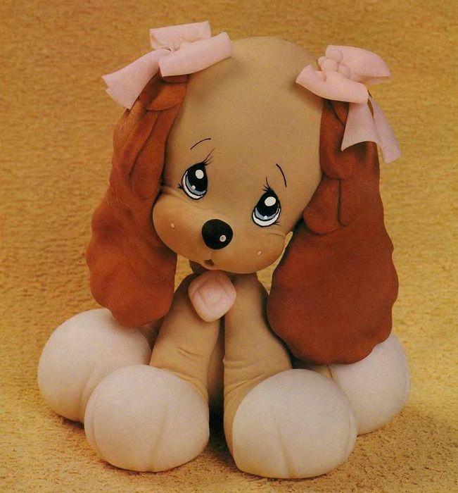 Лепим собачку из полимерной глины.. Обсуждение на LiveInternet - Российский Сервис Онлайн-Дневников