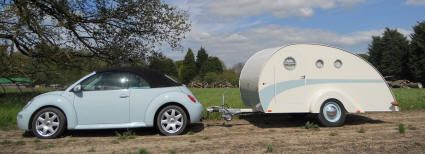 Micro Caravans, Teardrop Trailers, Tear Pod Trailers And Other Inventive Builds