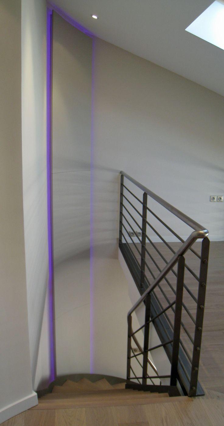 escalier m tal et passerelle mezzanine philippe ponceblanc architecte d 39 int rieur http www. Black Bedroom Furniture Sets. Home Design Ideas