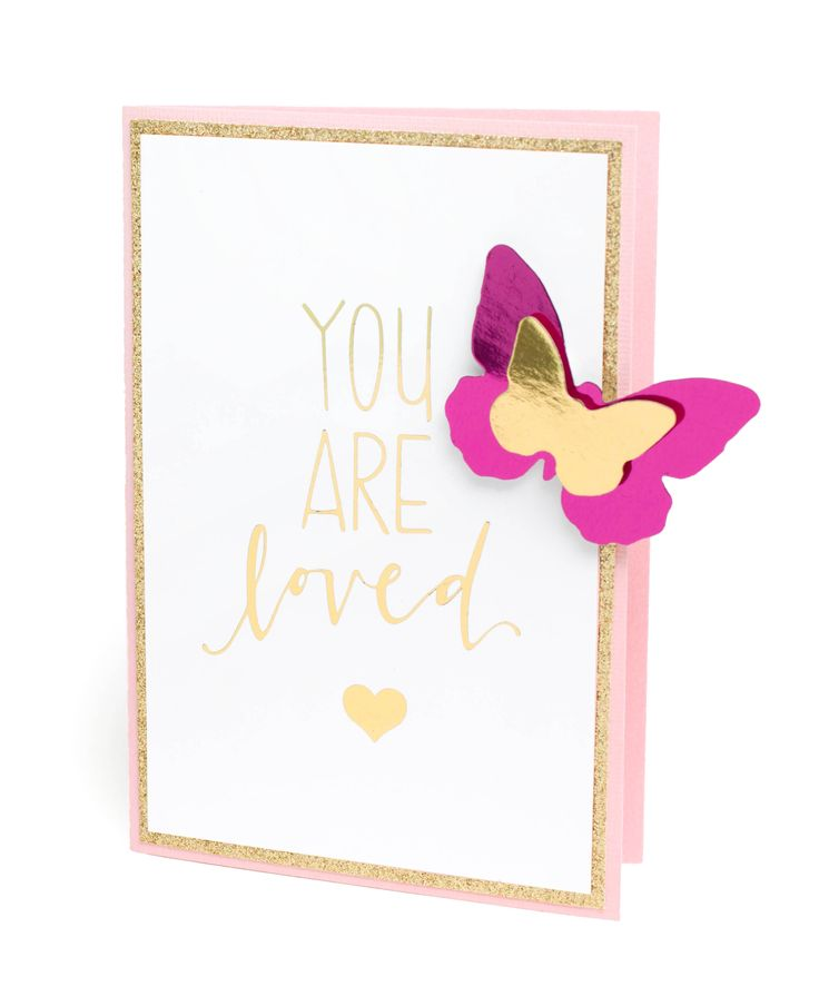 Art And Craft Ideas For Card Making Part - 21: Check Out American Crafts Minc Mini You Are Loved Card Crafting Ideas At A.  Explore Many More Such Exceptional Art U0026 Craft Products Only Here.