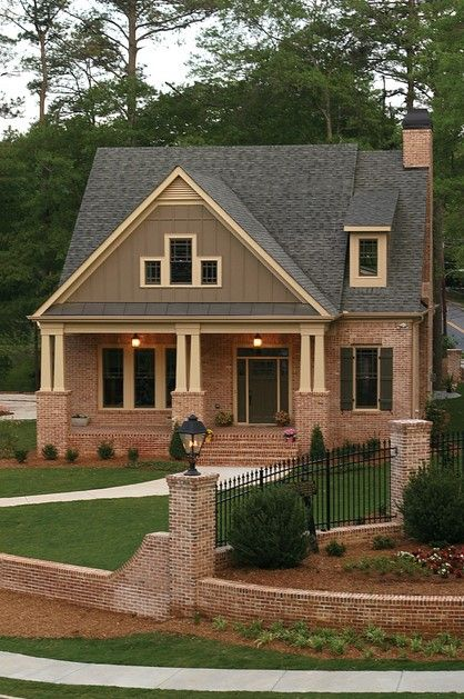 Exterior House Colors With Red Brick 20 best exterior house paint schemes images on pinterest