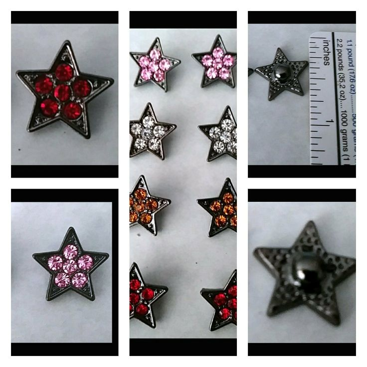 Another New Bundle from My Snap Crackle Pop Charms Shop! A Bundle of Eight 12mm Star Snaps that fit a 12mm Base! Come on over and check them out! Thank you for looking!