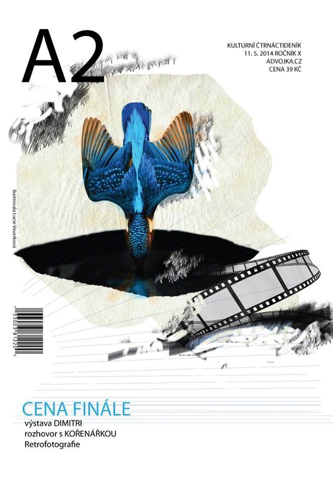 Titulní stránka k časopisu A2