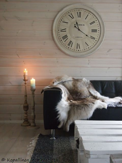 Kopallinen inspiraatiota: Kalkkimaali ja antiikkipatinointi. Homedeco - decoration - candles - chalk paint - antiquity patina -