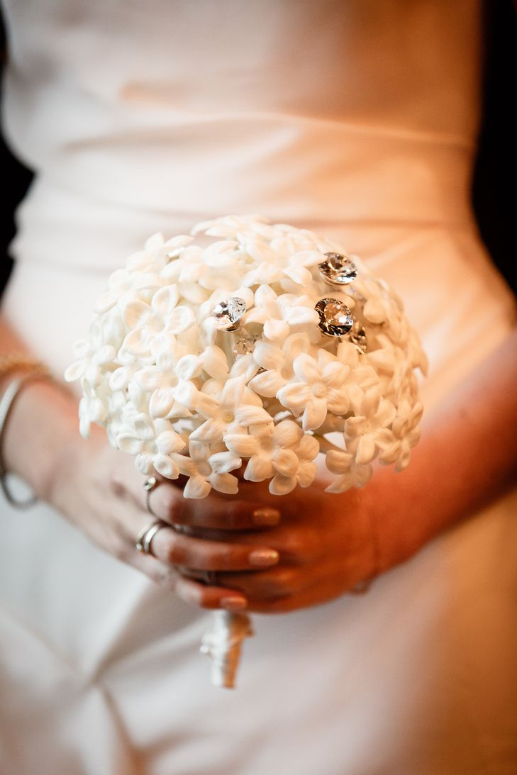 wedding ceremony new york city%0A Glam Paper Flower Bouquet   Brian Dorsey Studios https   www theknot